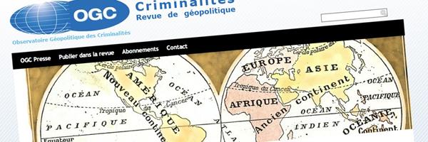 GéopolCrim - L'observatoire Géopolitique des Criminalités - bureau2crea