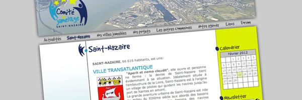 Comité de Jumelage de SaintNazaire - bureau2crea
