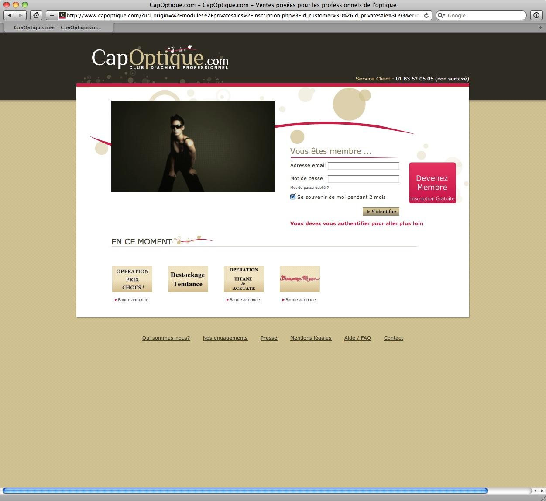 Cap'Optique - bureau2crea