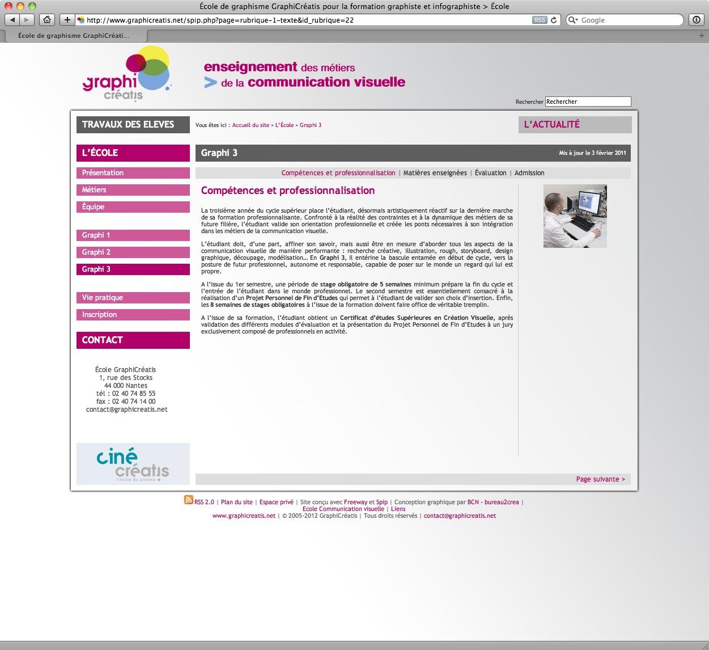 GraphiCréatis - bureau2crea