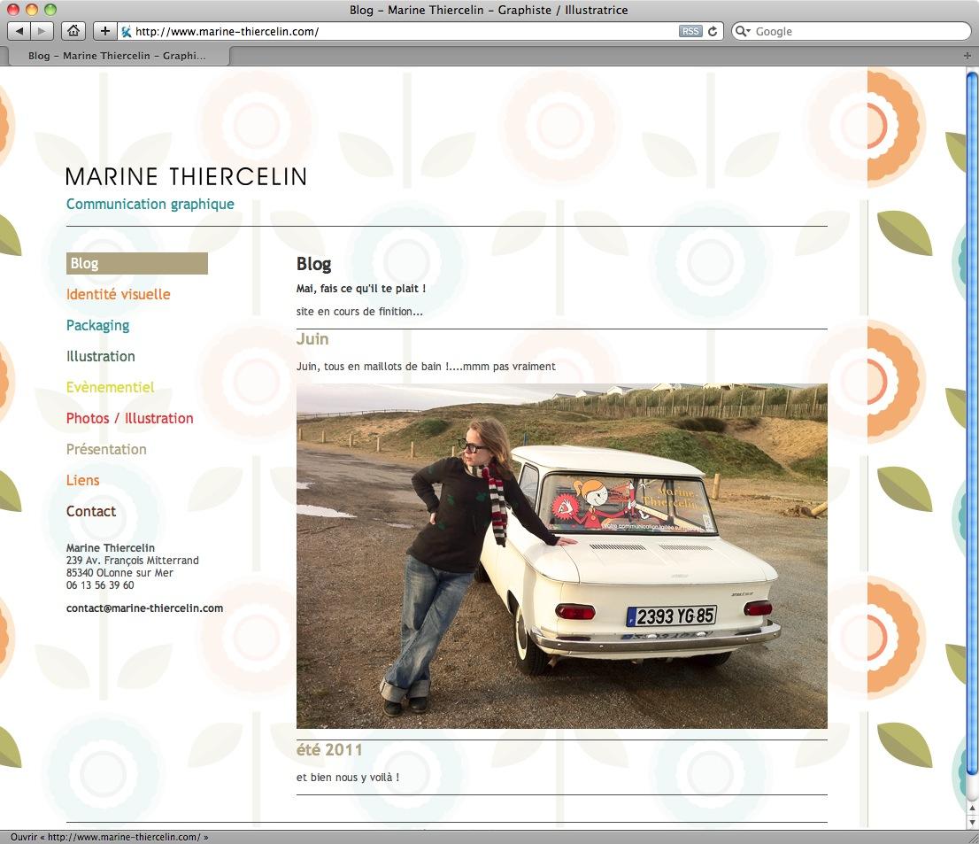 Marine Thiercelin - Graphiste - bureau2crea