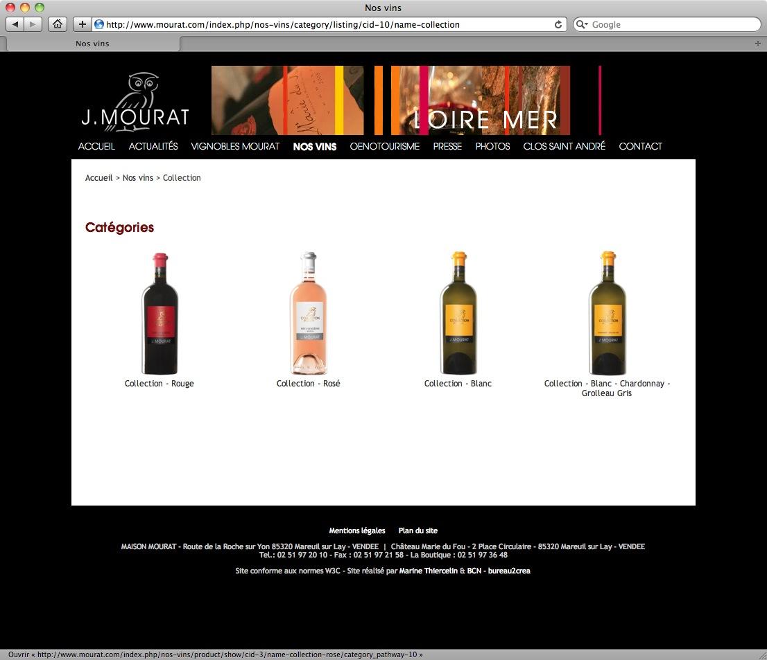 Vignobles J. Mourat - bureau2crea