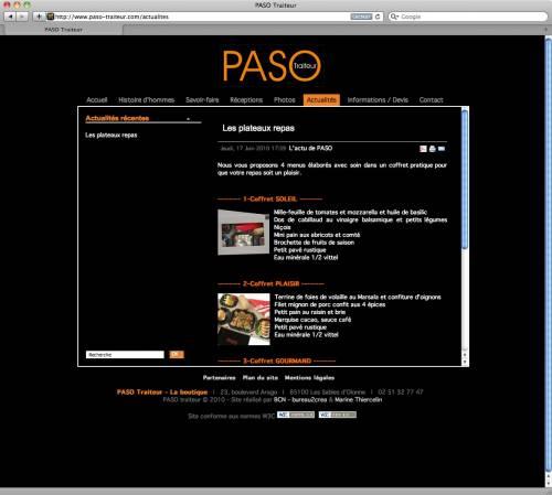 PASO Traiteur - bureau2crea