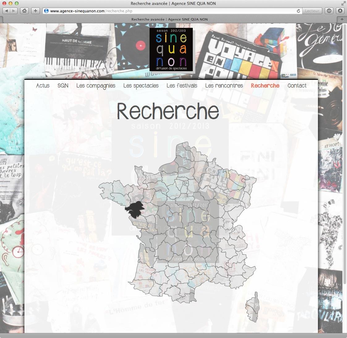 Agence SINE QUA NON - 2012/2013 - bureau2crea